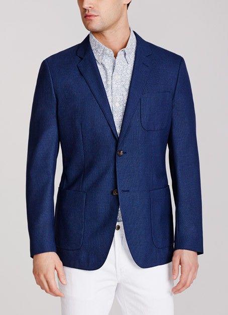 The Unconstructed Italian Wool Blazer | Blazers