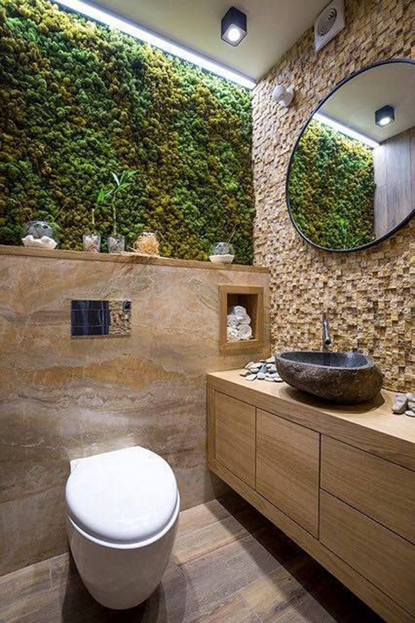 20 Fresh And Natural Moss Wall Art Decorations | Home Design And Interior