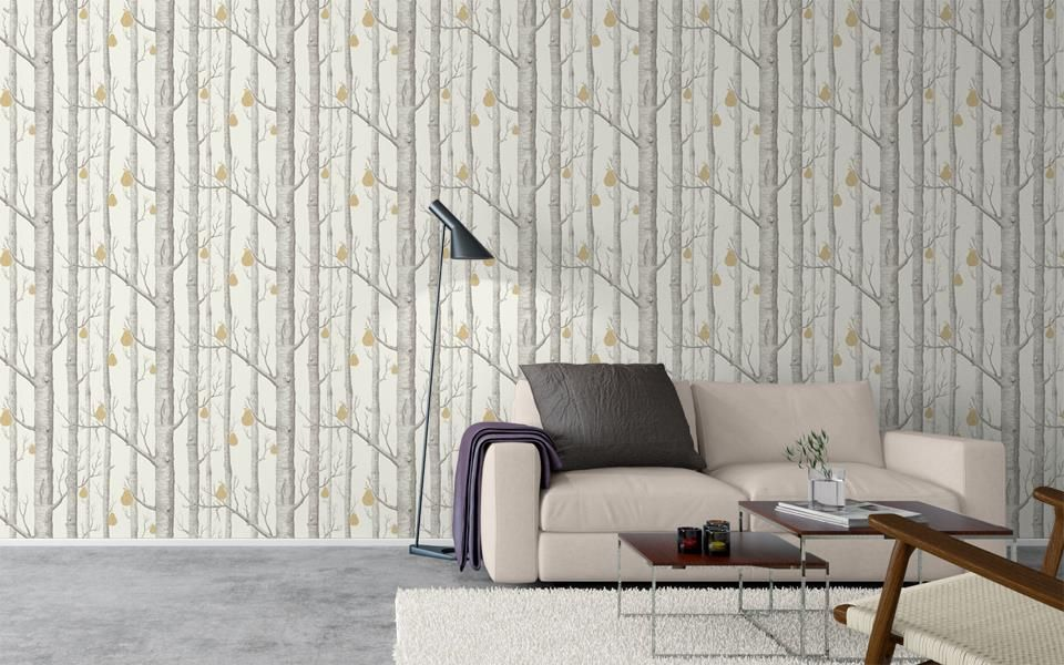 Cole Son Contemporary Restyled Woods Pears Wallpaper