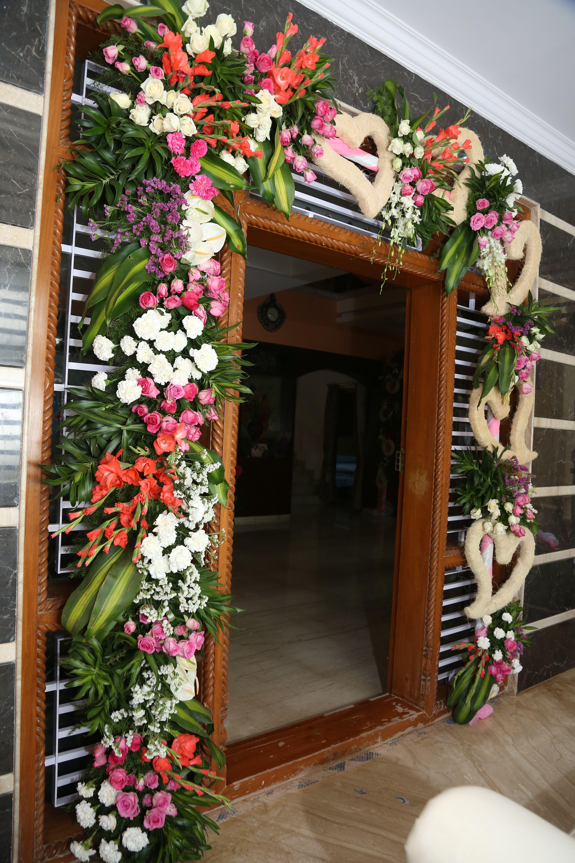 home decor | Wedding stage decorations, Wedding entrance ...