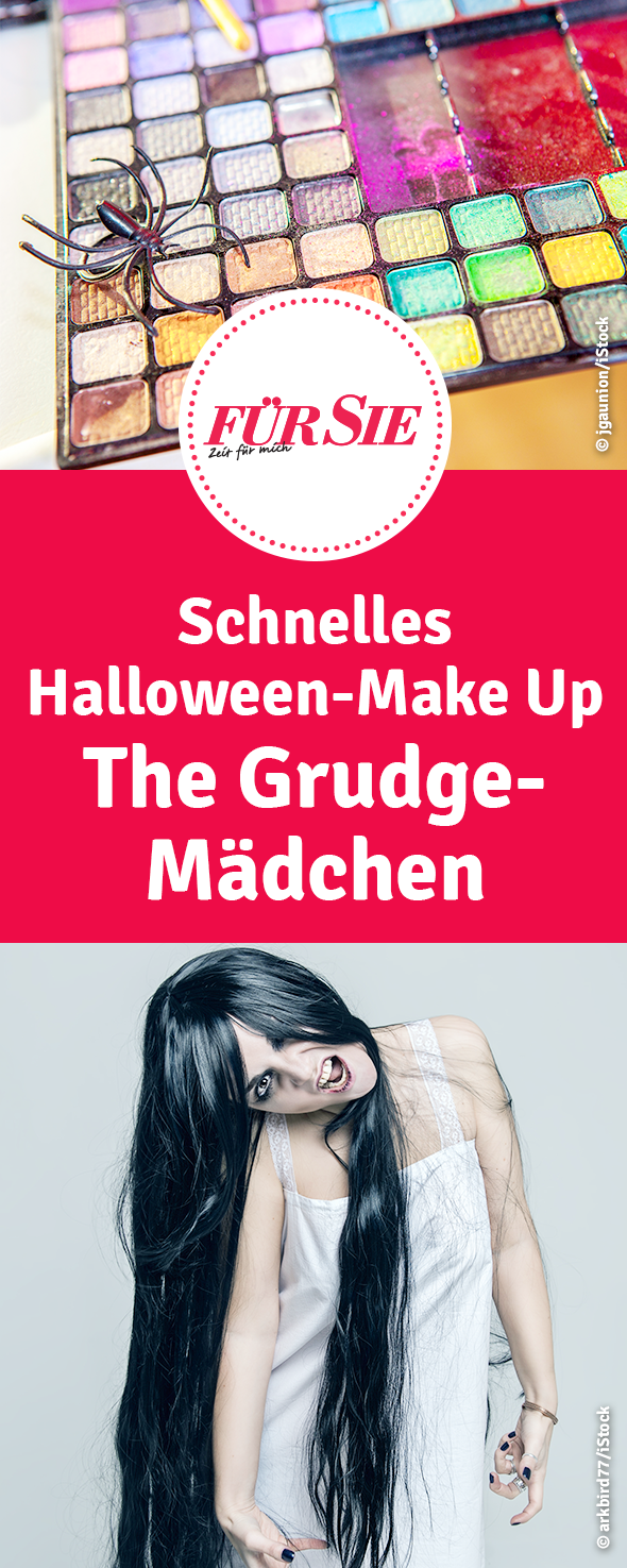 schnelles HalloweenMake Up The GrudgeMädchen in 2020