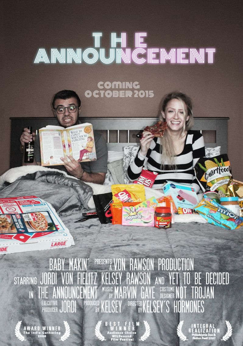 Pin On Love Movie poster pregnancy announcement template