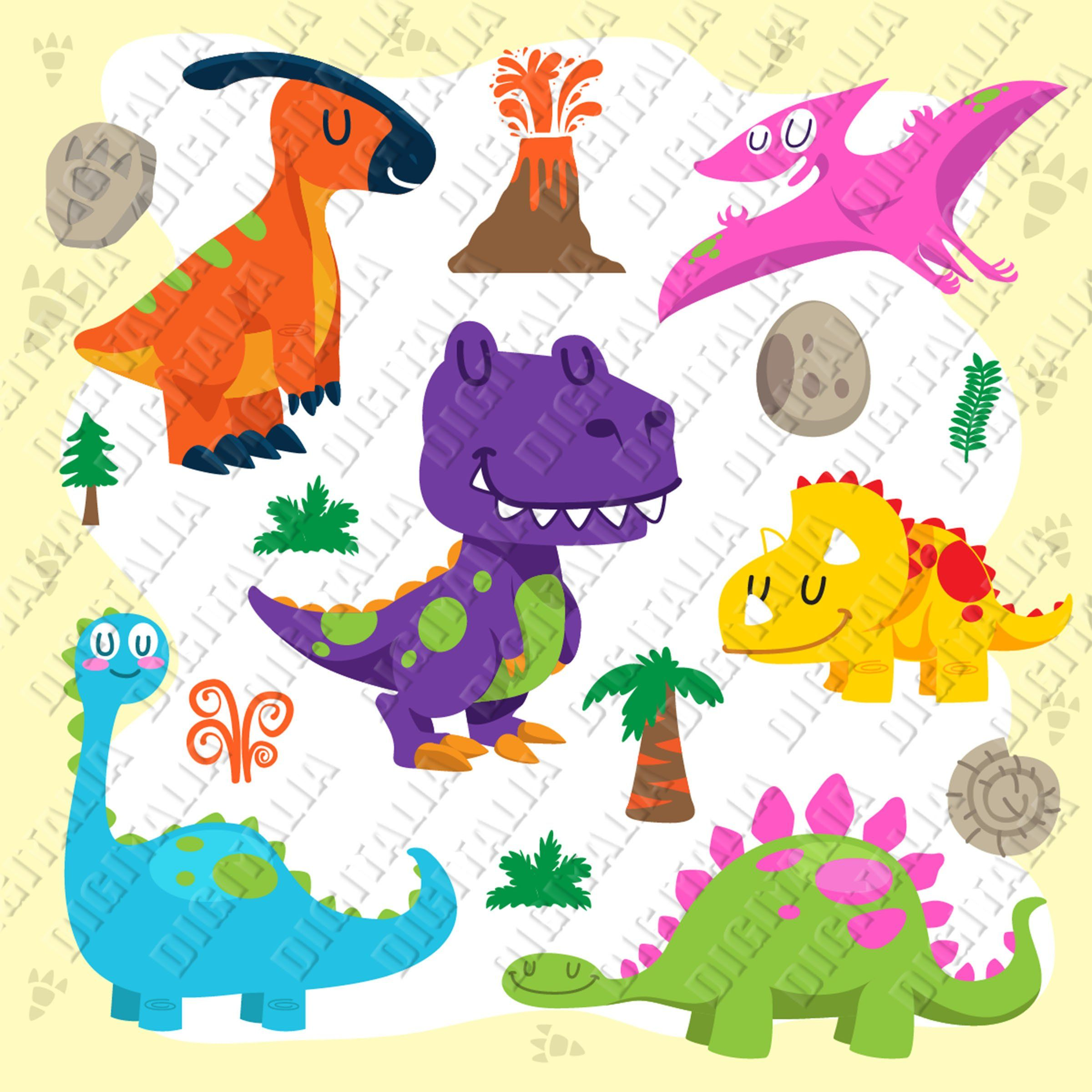 Cute Dinosaur Bandle Clipart Dinosaur Svg Png With Transparent