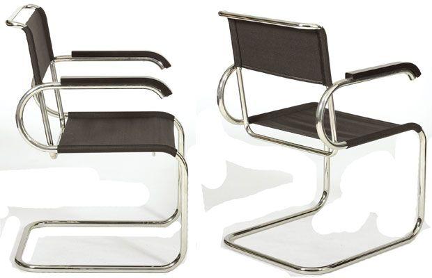 TECTA D 40 Bauhaus Freischwinger Design Marcel Breuer