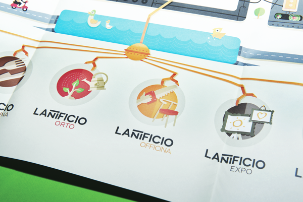 Lanificio - Voi Siete Qui by Fabio Persico, via Behance