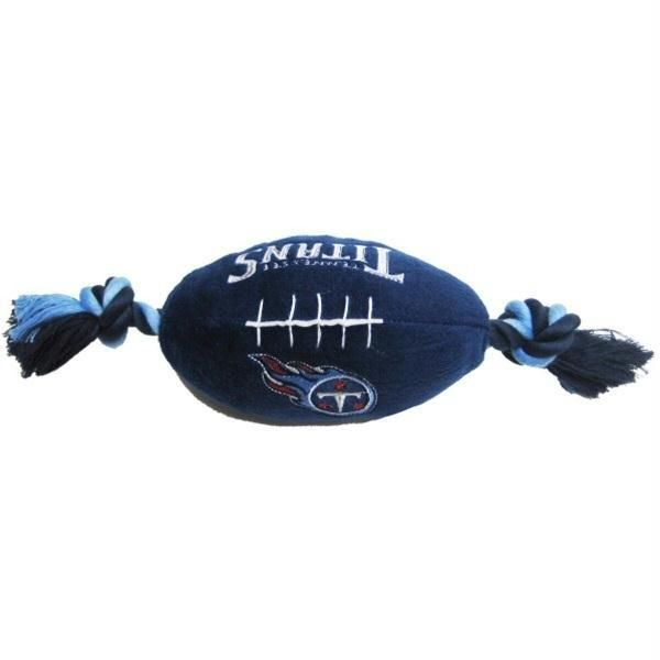 8a1089a4b Make play time with your pet much more entertaining while showing some team  spirit with this officially licensed NFL plush football dog toy!