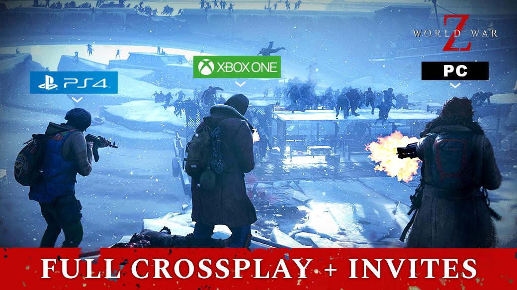 World War Z Cross Play Extending To Ps4 Players Next Week P World War World Latest Video Games