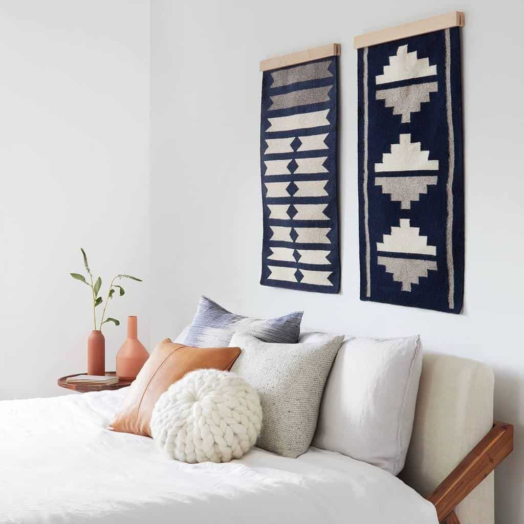 Framed Rug As Wall Art Rug Wall Hanging Home Decor Cool Rugs
