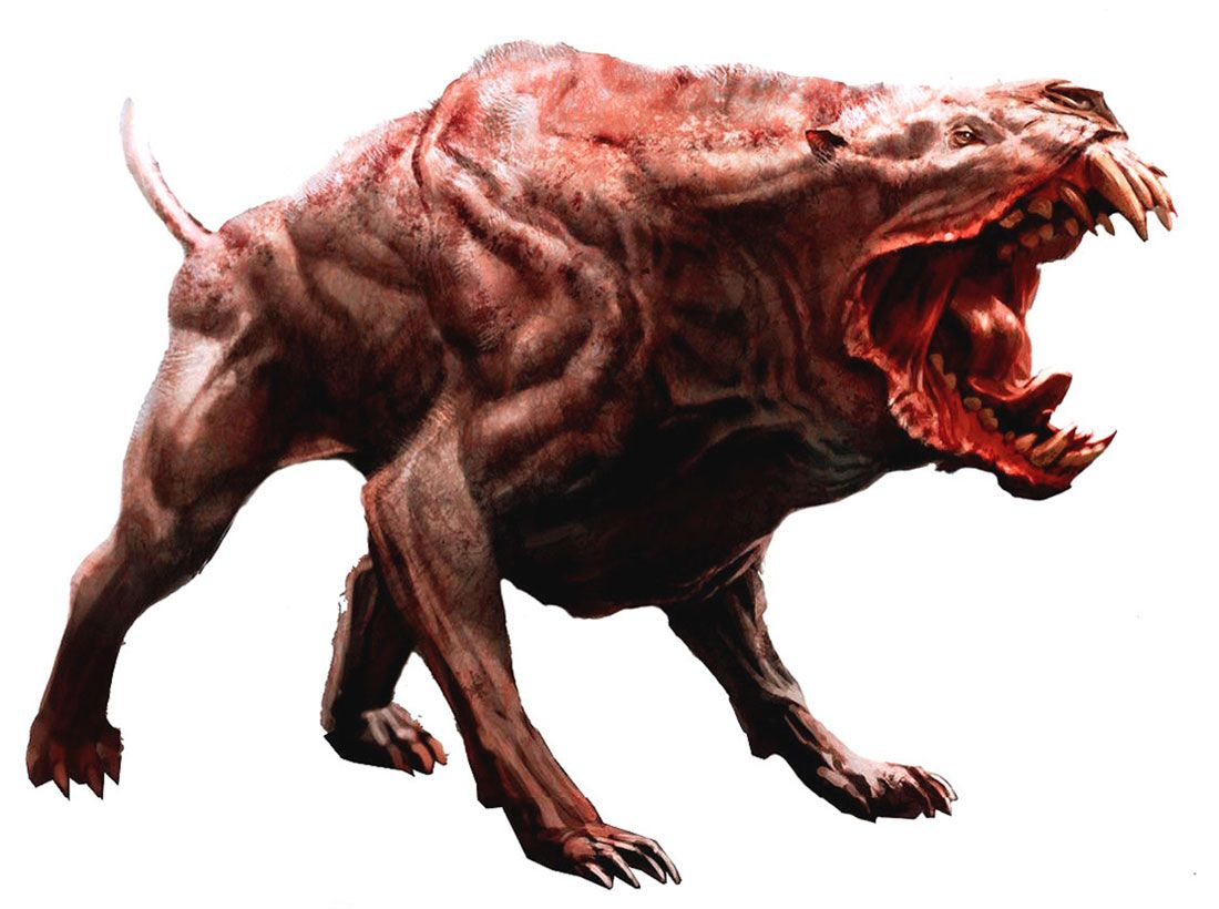 Fallout Mutated Animals Concept Art