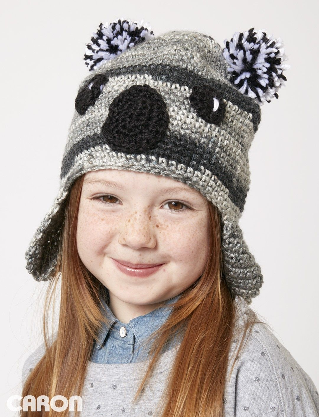 Yarnspirations.com - Caron Koala-ty Hat - Patterns | Yarnspirations ...