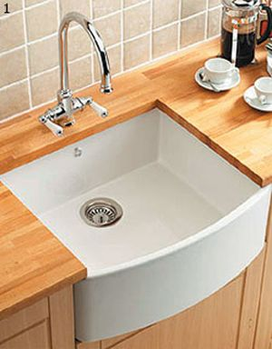Bowed Front Belfast Sink For The Home Pinterest