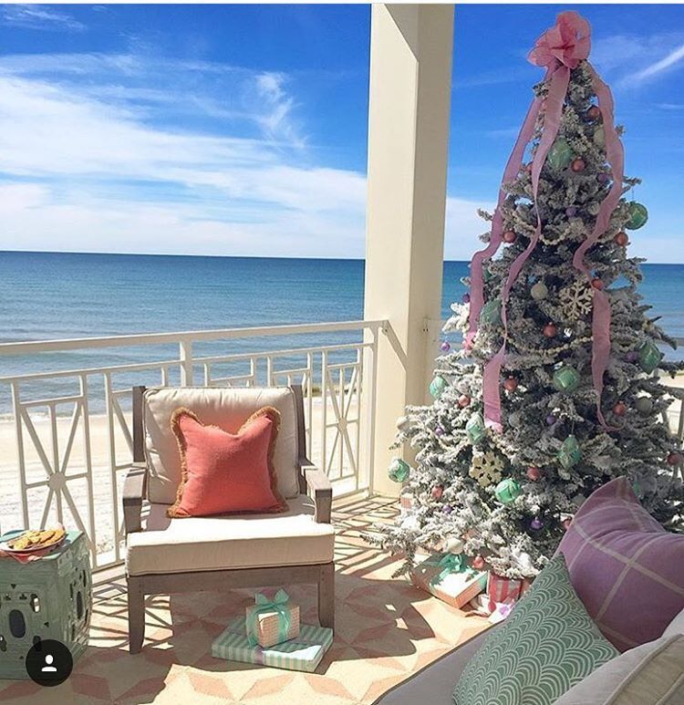 Best Rustic Coastal Decorating Ideas For Simple Home Decor: Anyone Else Decorating For A Coastal Christmas Like