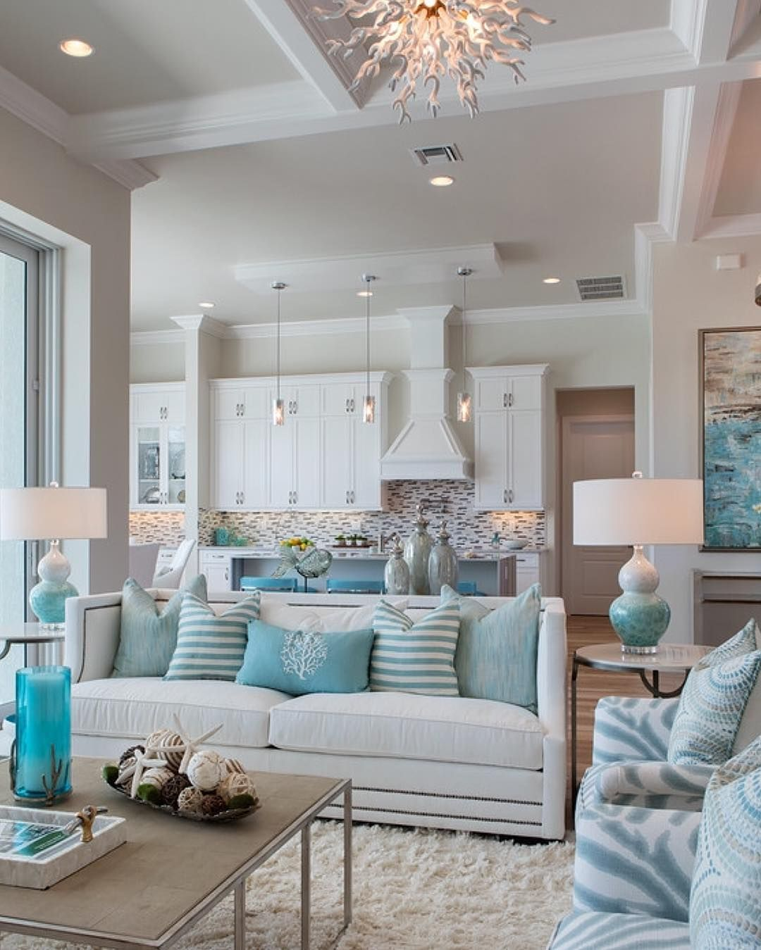 Pinterest Coastal Living Rooms