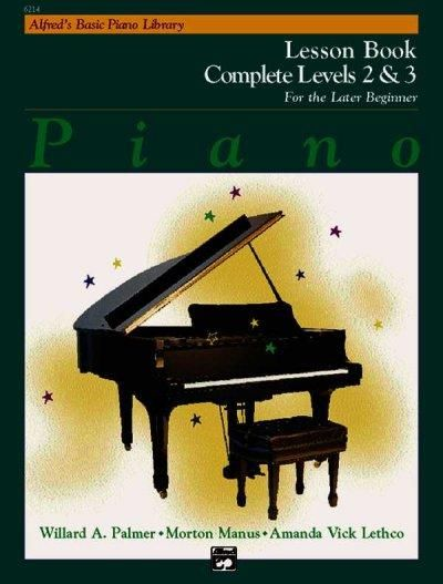 Alfred S Basic Piano Library Piano Lesson Book Complete Levels 2