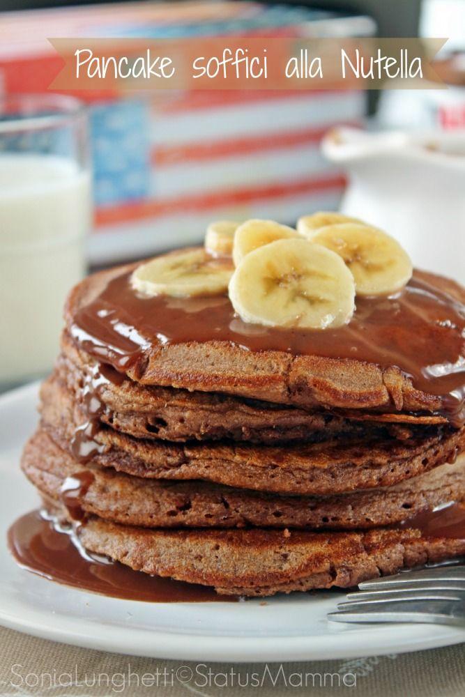 Ricette Pancake Nutella