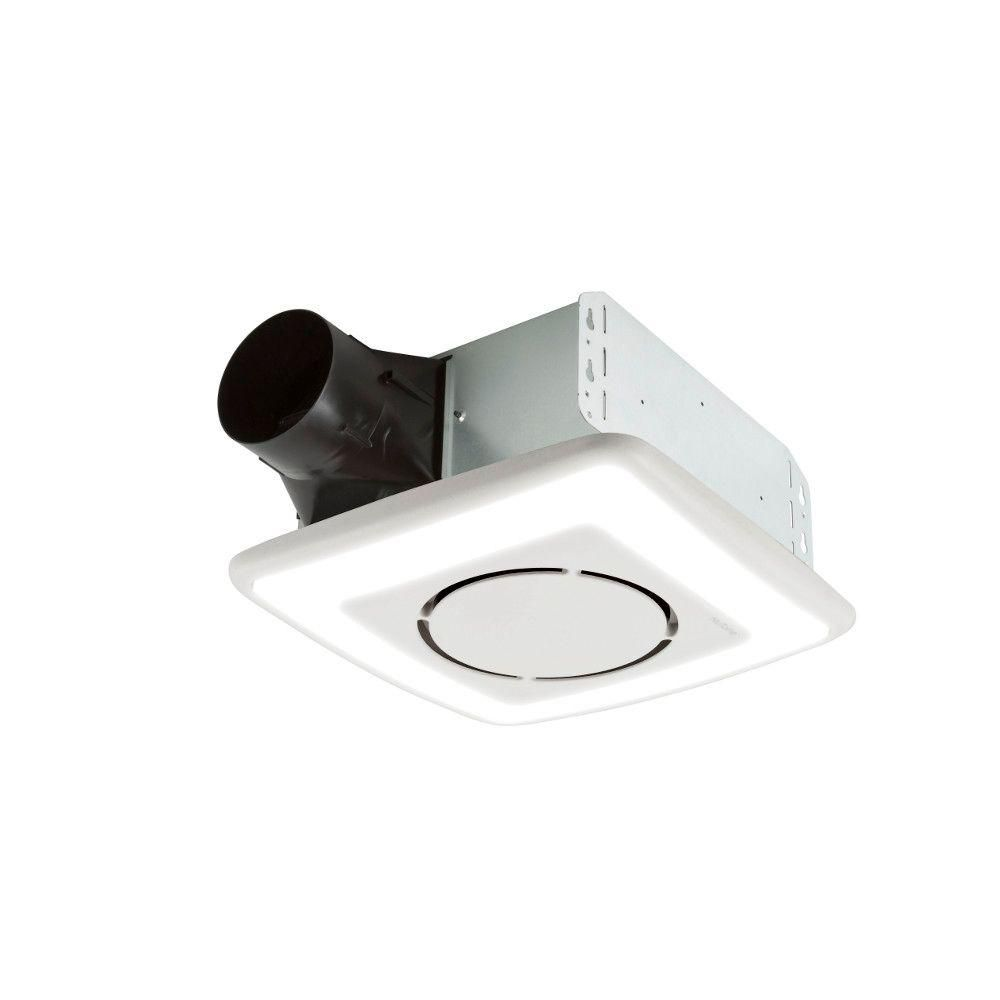 Nutone invent series 110 cfm ceiling exhaust bath fan with light and nutone invent series 110 cfm ceiling exhaust bath fan with light and soft surround led technology aloadofball Images