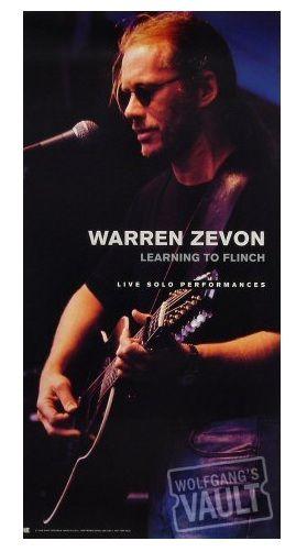 warren zevon poster - vintage 1993