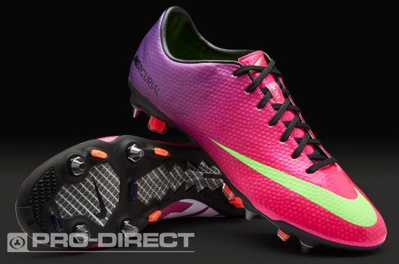 half off 05dea 0819c Nike Football Boots - Nike Mercurial Vapor IX SG Pro - Soft Ground -  Fireberry-Electric Green-Red Plum
