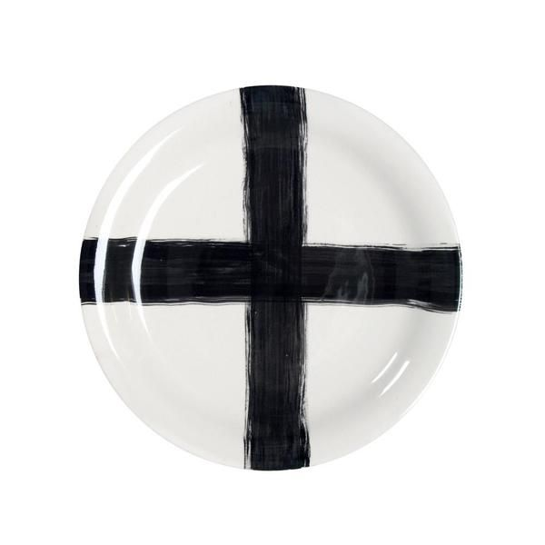 Ceramic Plate Cross