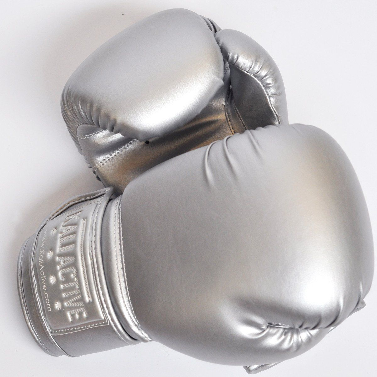 Silver Boxing Glove | Training | Boxing gloves, Gloves