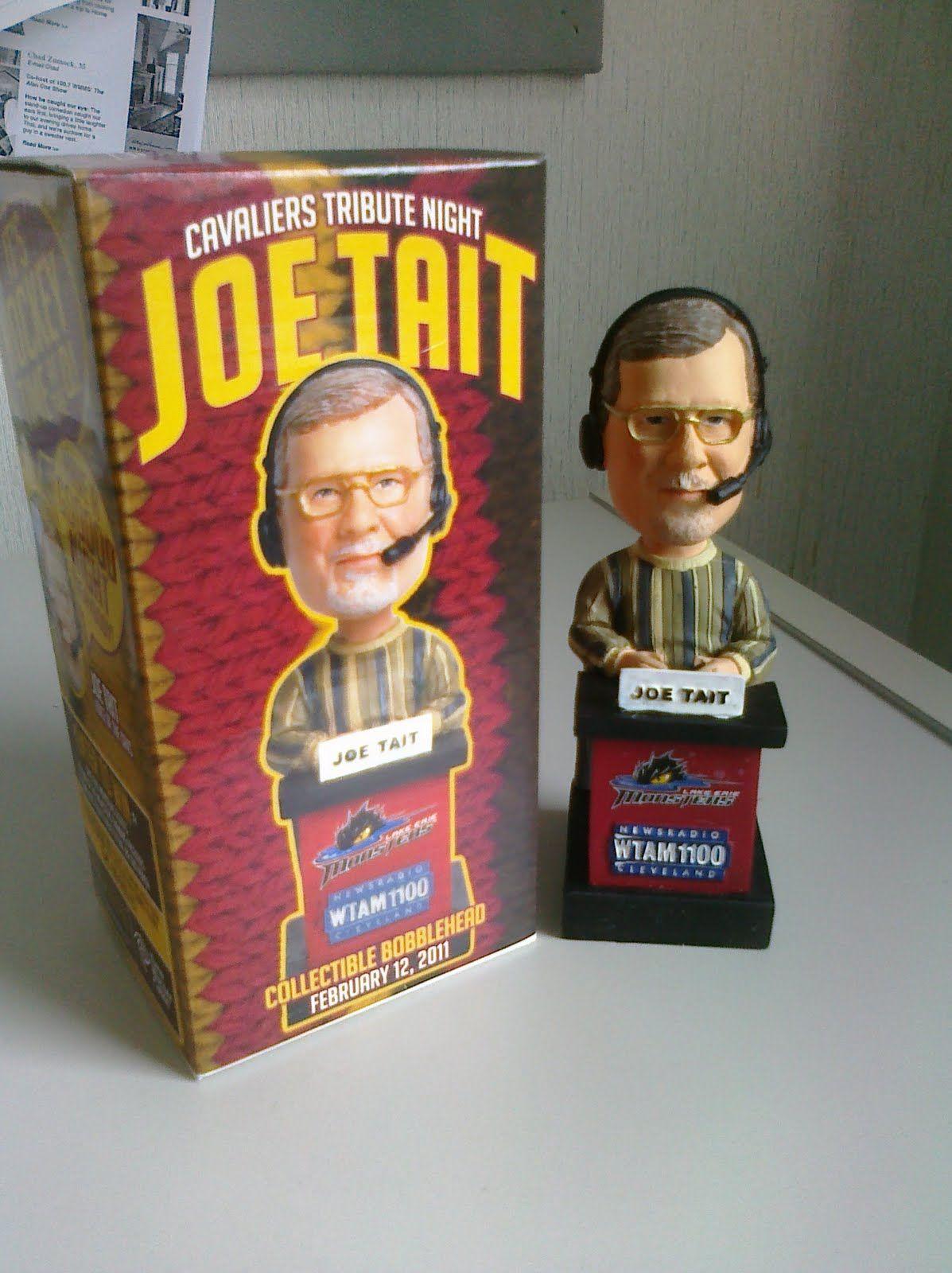 cleveland cavaliers bobbleheads - Joe Tait | CLEVELAND