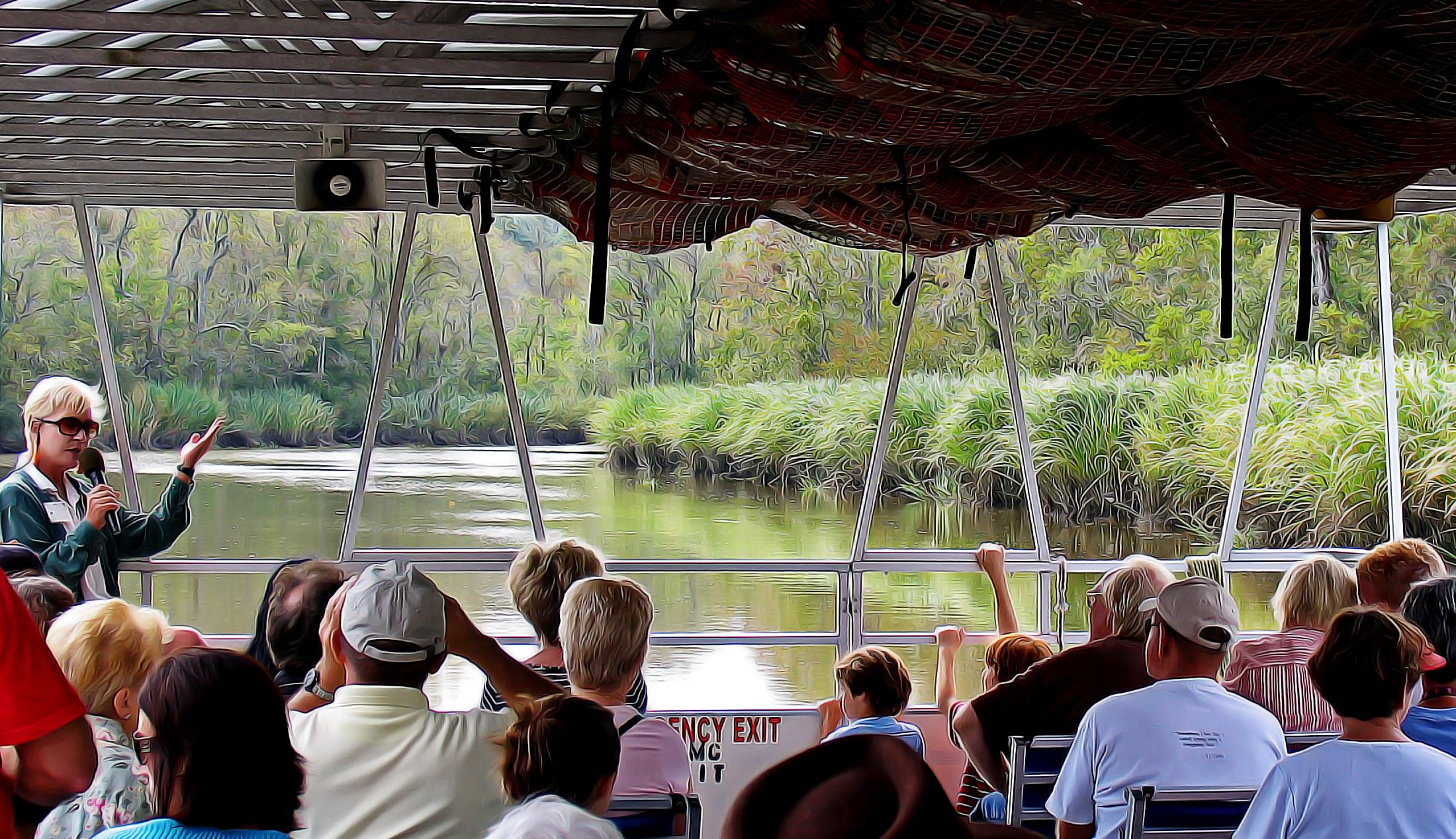 Brookgreen Gardens Waterway River Tour. (With images