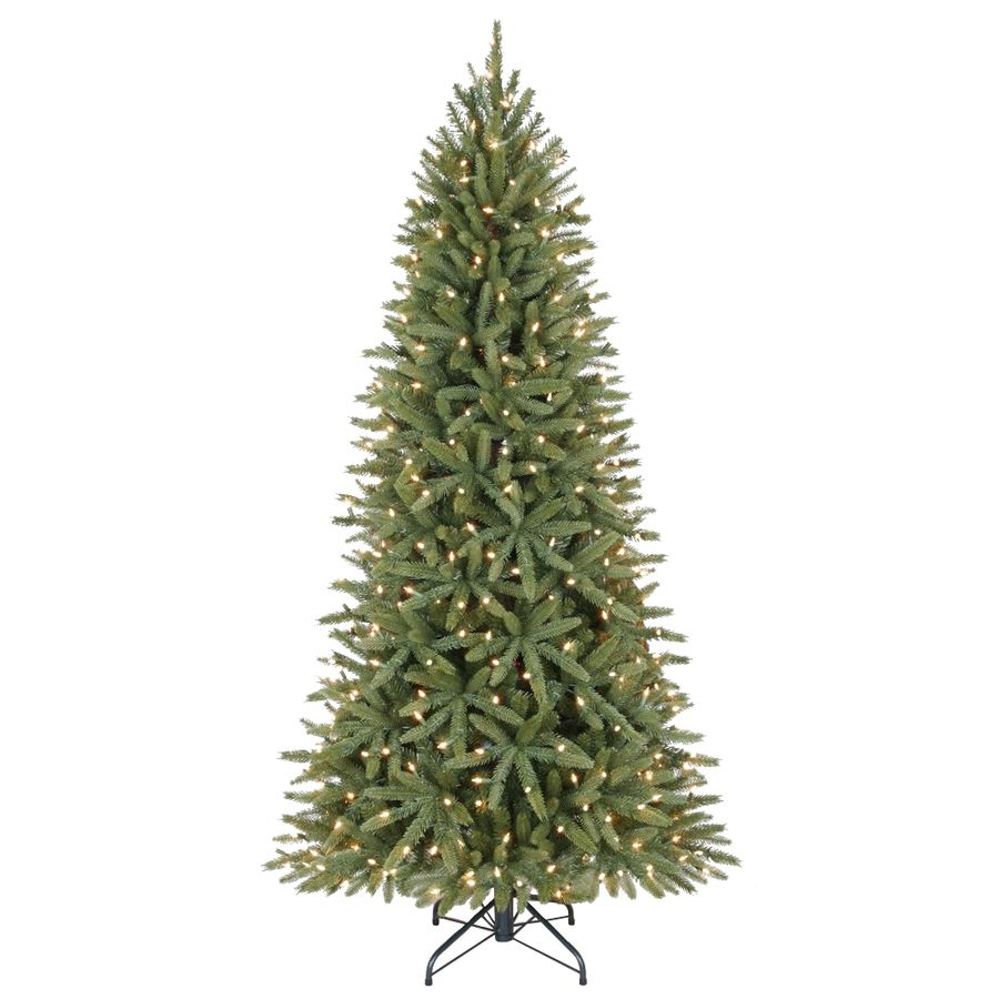 Holiday Living 6 5 Ft Pre Lit Walden Pine Artificial Christmas Tree With 400 Constant White Clear Incandescent Lights Lowes Com Pre Lit Christmas Tree Artificial Christmas Tree Christmas Tree