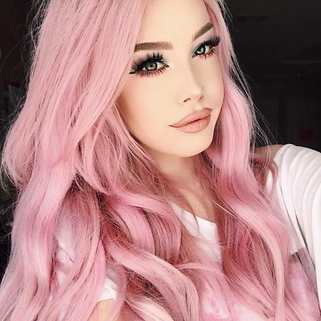 Love Hailie And Her Different Hair Colors Hair Styles Hair Color Trends Hot Hair Colors