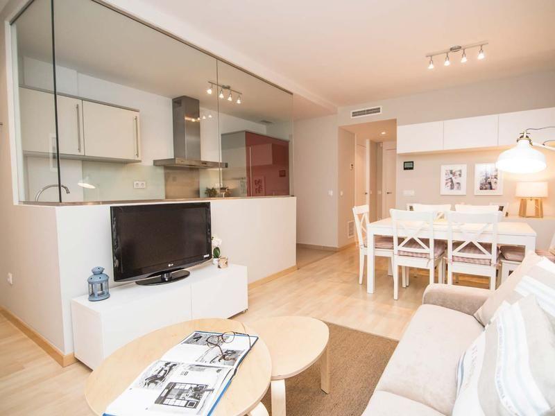 Un apartamento renovado   Salon cocina, Salón y Apartamentos