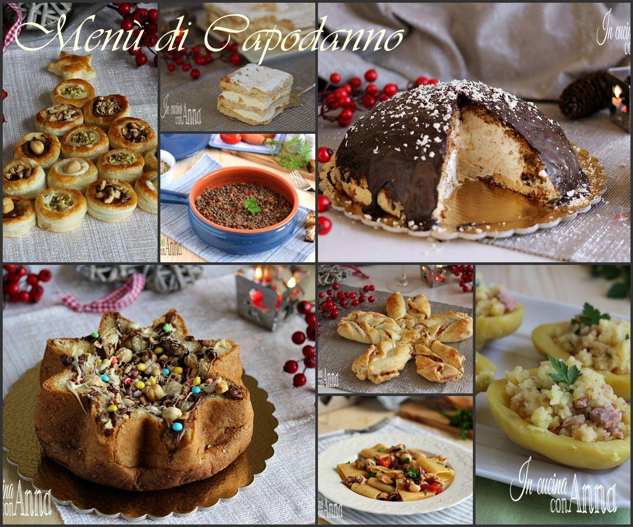 MENU' DI CAPODANNO ( Dal Veglione al pranzo,le ricette per ...