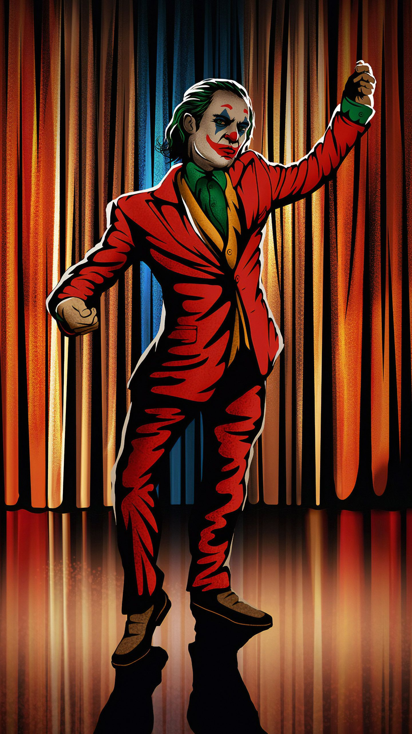 Joker Dancing Hd Superheroes Wallpapers Photos And Pictures