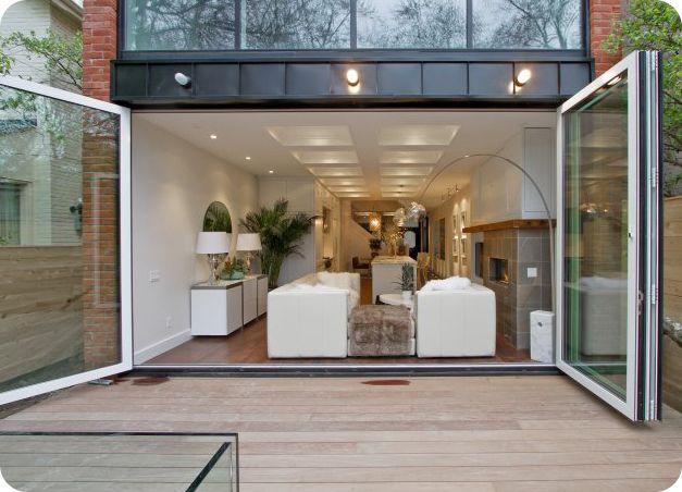 Residential Folding Glass Walls Canada Folding Glass Doors