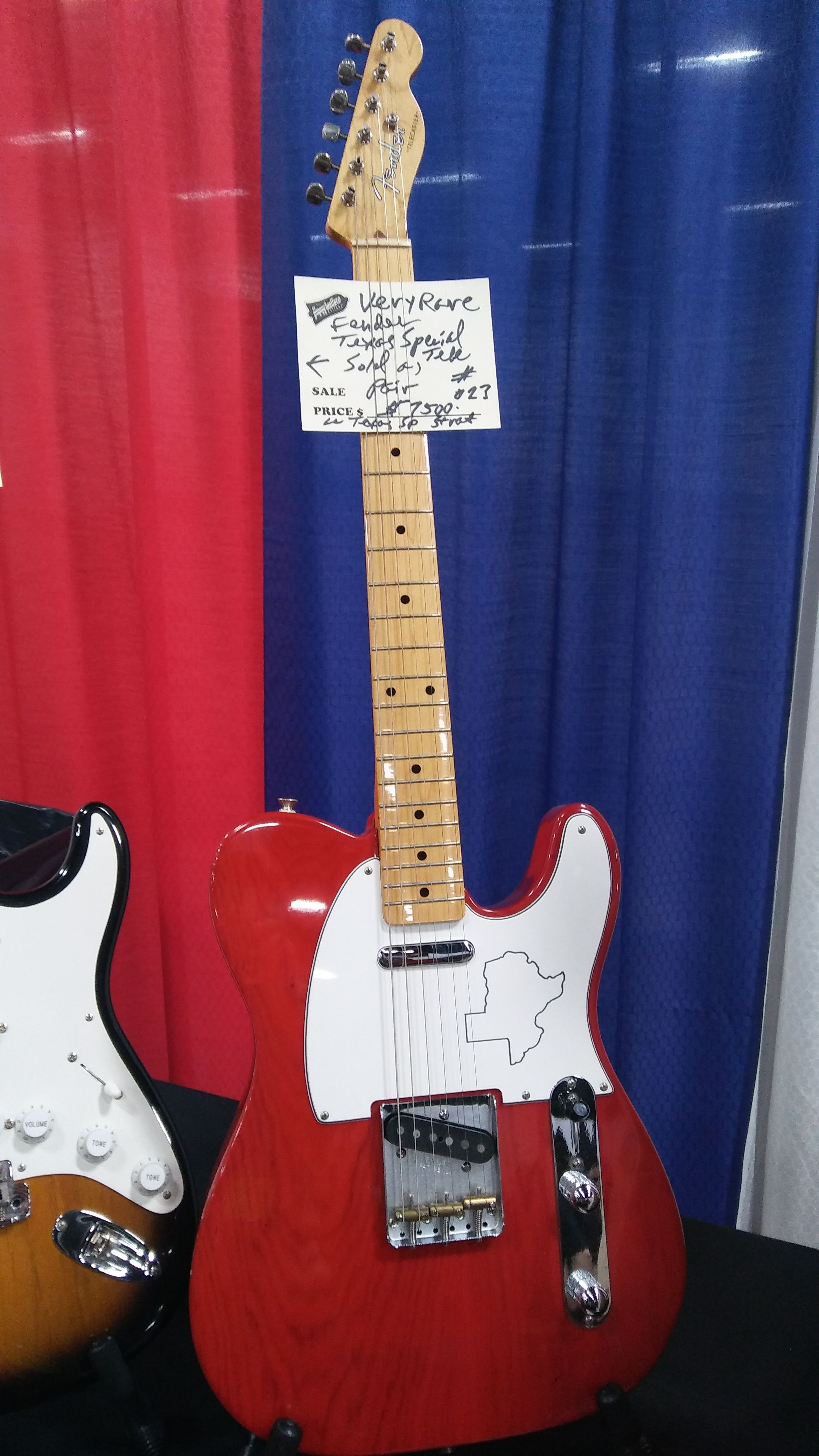 Fender Texas Special Telecaster Guitar At Fender 2017 Bee 3 Vintage