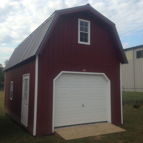 14x24 2 Story Gambrel Garage 57342 Tn Wood Tex Products
