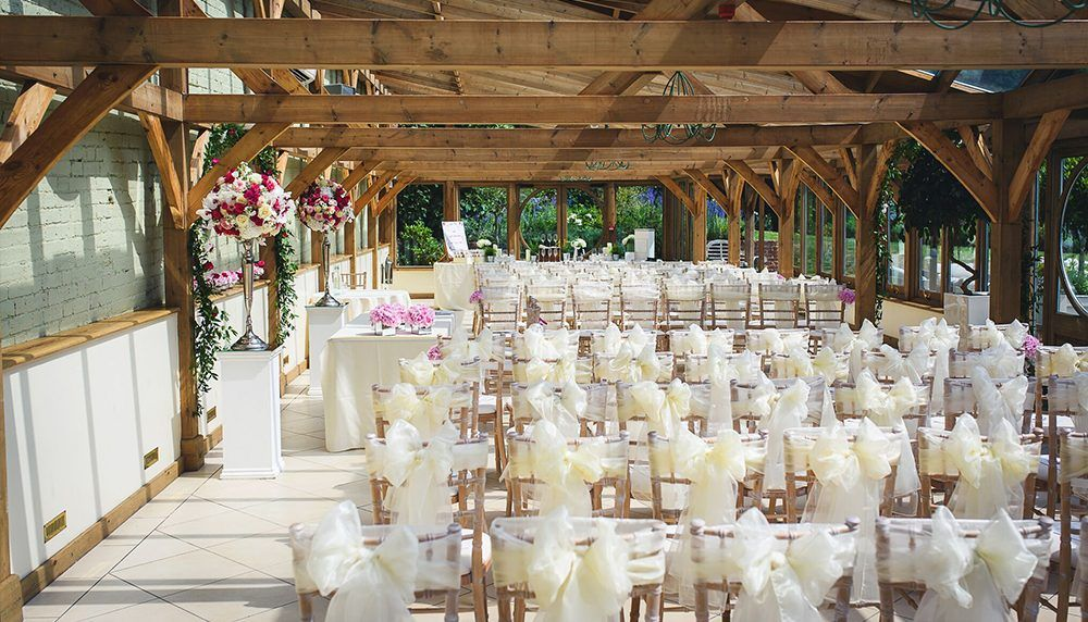 barn wedding venue london%0A We adore Gaynes Park  a most stylish and contemporary barn wedding venue  located in the