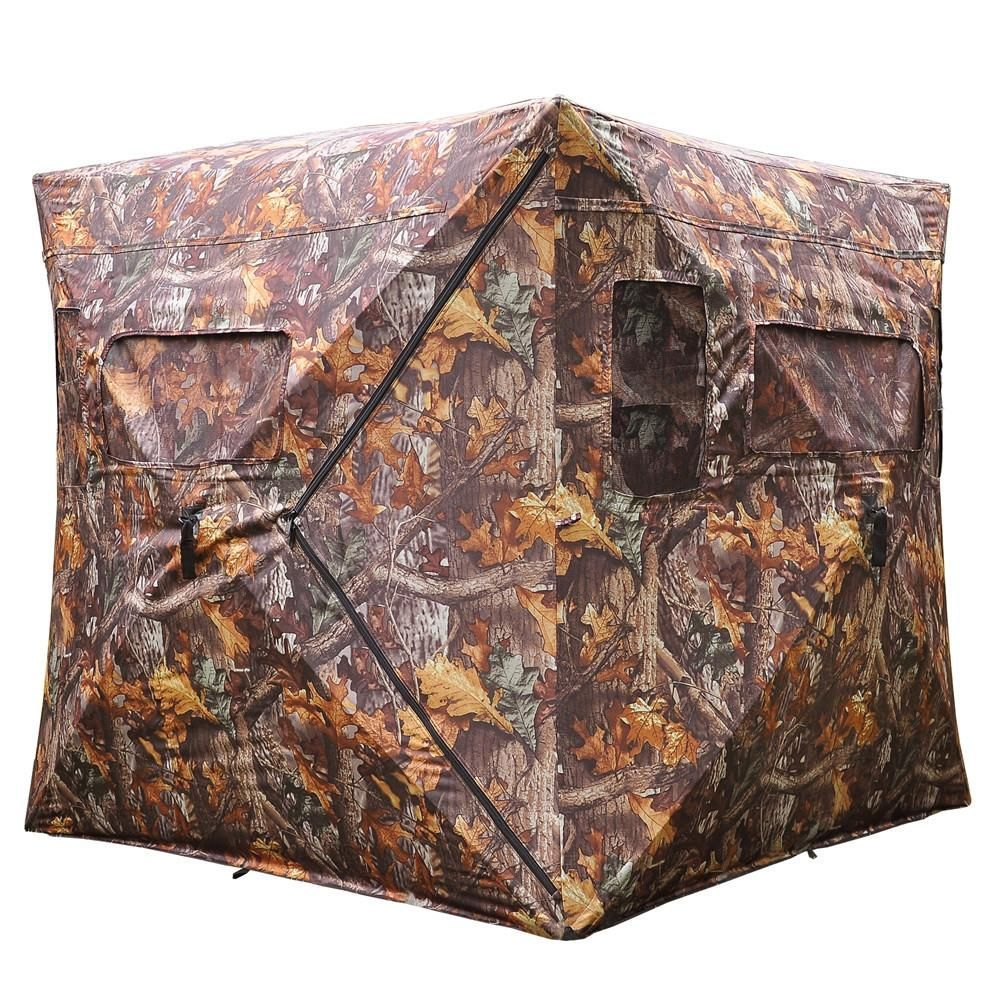 Collapsible Ground Hunting Blind Camouflage Hub Style