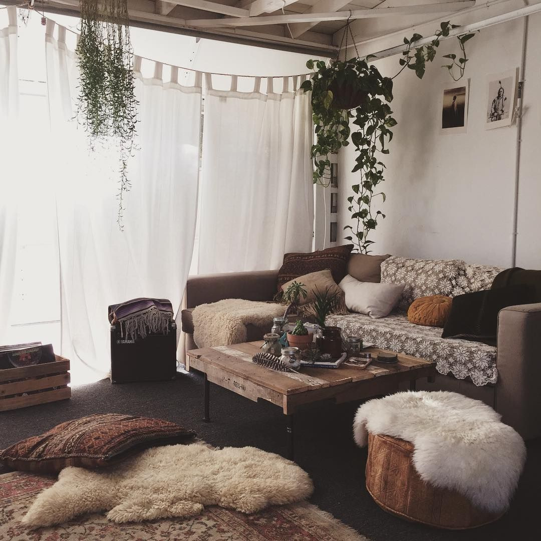 Farmhouse Bohemian Living Room