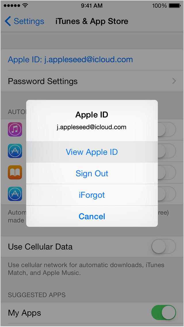If you your Apple ID Music app