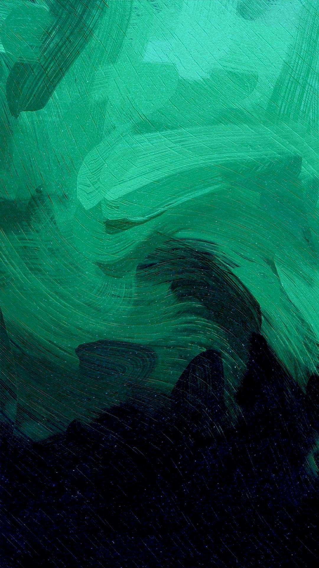 Dark Green Minimalist Wallpaper ...