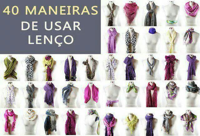 40 maneiras de usar lenco