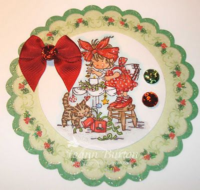 Christmas Cuppa  Image from Lily of the Valley