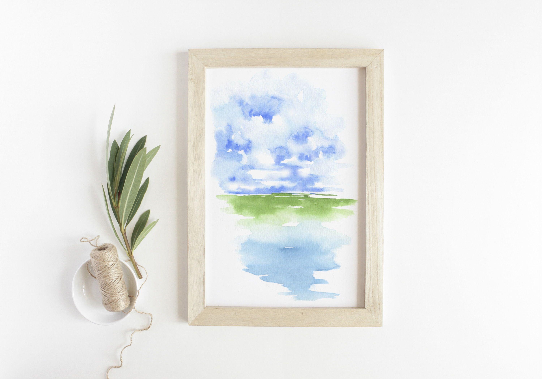 Original Watercolor By Asara Design Watercolor Art Prints