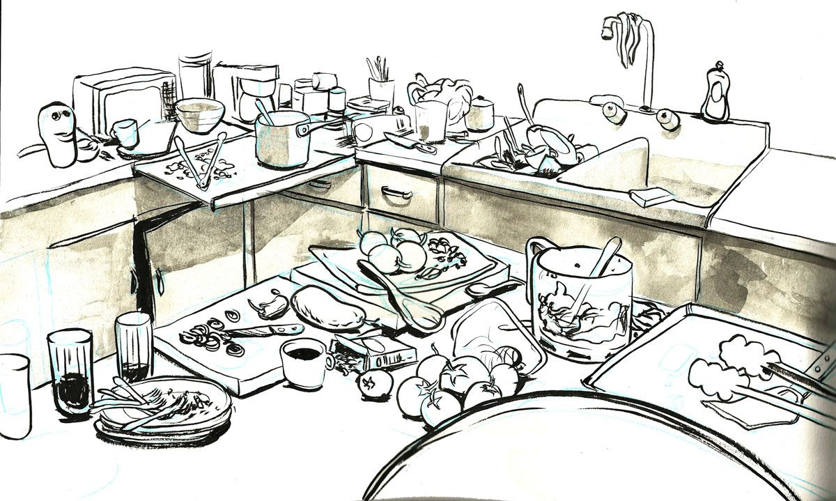 dishes kitchen sink clipart bookcoverdesigns info dishes sink clip ...