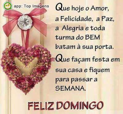 Imagens De Feliz Domingo Para Compartilhar No Facebook Clique E