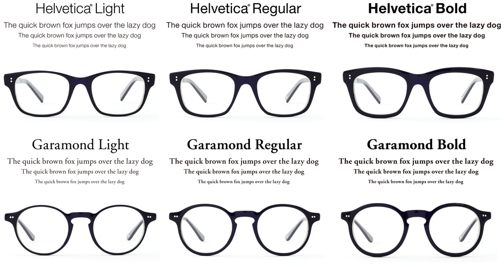 Lentes-helvetica-garamond-all-type | Design | Pinterest | La ...