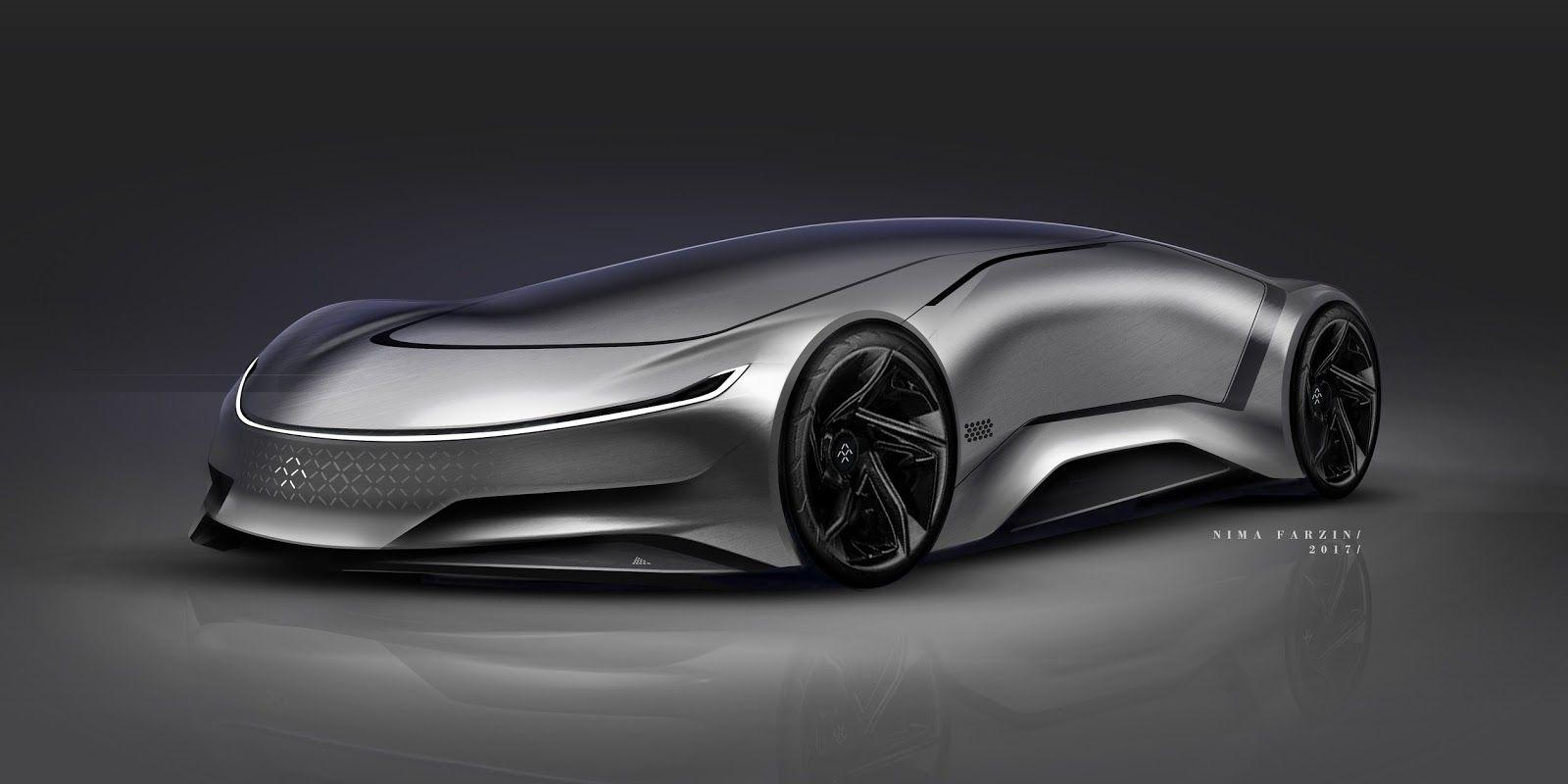 Stunning Sketches From Nima Farzin Motivezine In 2020 Concept Cars Faraday Future New Luxury Cars