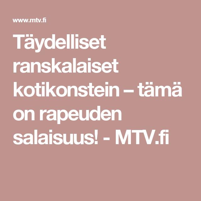 Täydelliset ranskalaiset kotikonstein – tämä on rapeuden salaisuus! - MTV.fi