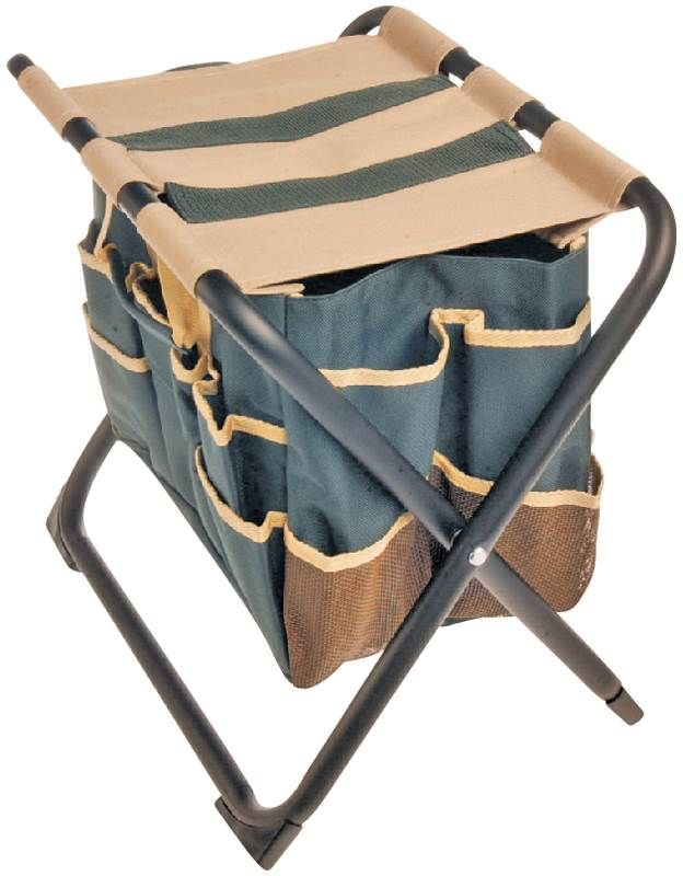 This Folding Stool With Detachable Heavy Duty Canvas Bag For Keeping Tools  Close To Hand Is Ideal For Weeding, Gardening And Other Hobbies352 Lb  Weight ...