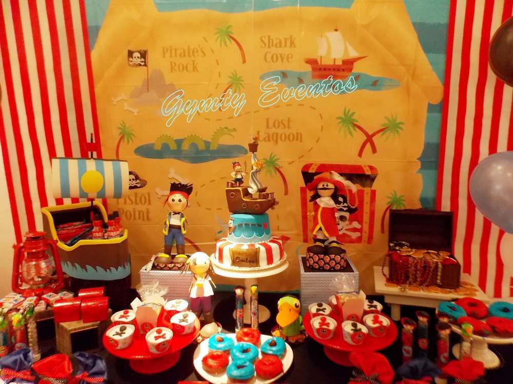 Swell Jake And The Neverland Pirates Birthday Party Ideas With Images Personalised Birthday Cards Fashionlily Jamesorg