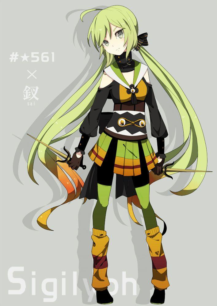gijinka human version pokemon, sigilyph   Pokemon Style ...